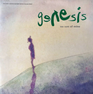 "Genesis ‎- No Son Of Mine (12"") (G-/VG-)"